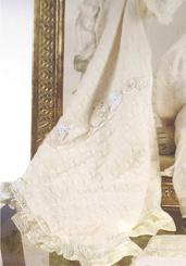Picci Champagne вязанное плед для колясок и колыбелек.