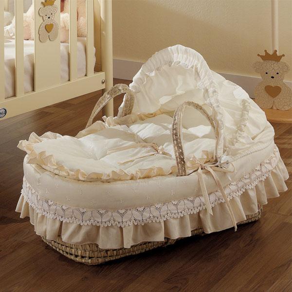Плетеная колыбель-переноска Pali Caprice Royal.