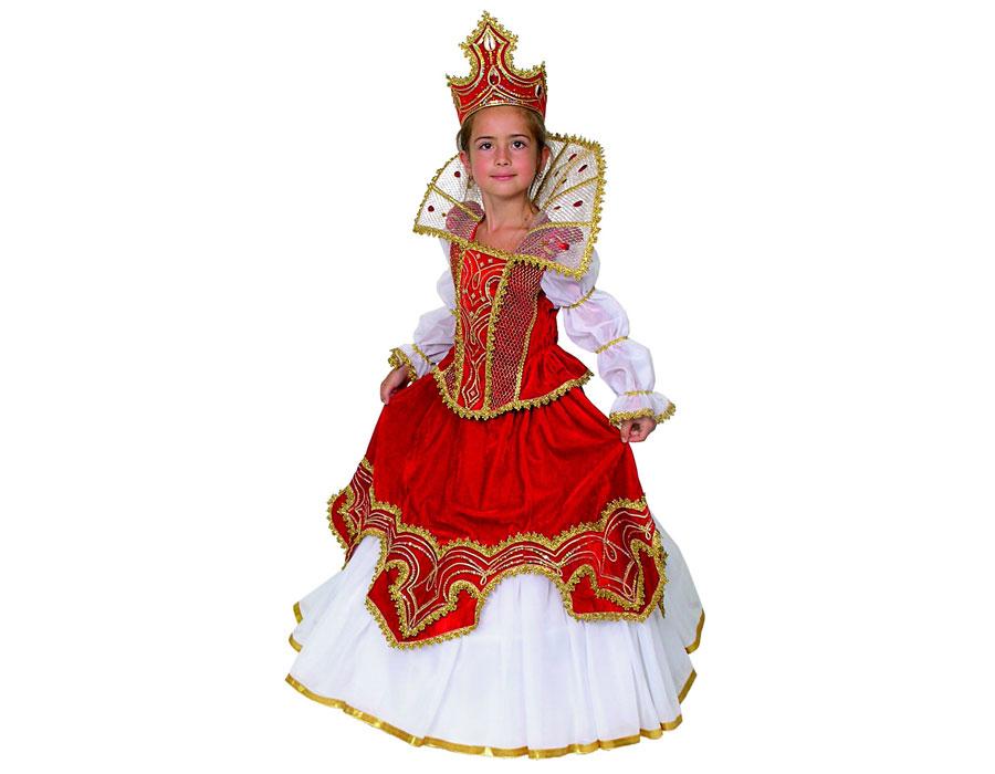 Костюм русской царицы для девочки своими руками 64