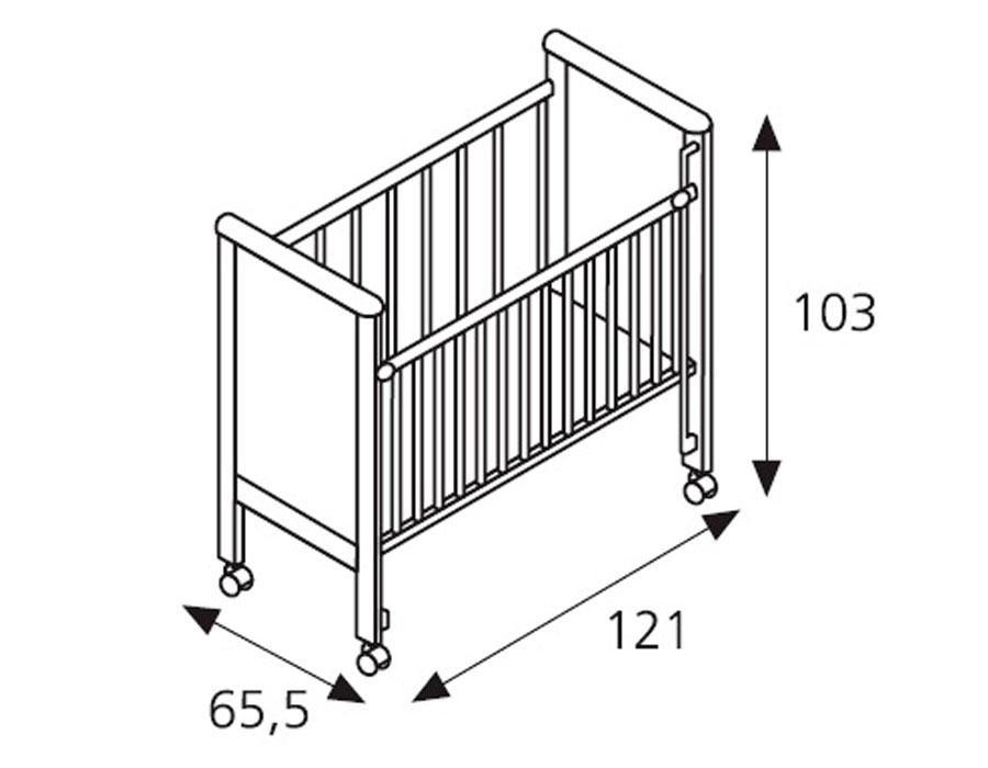 Чертеж детской кроватки для новорожденных своими руками