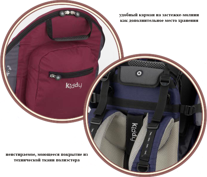 фото Рюкзак-переноска Kiddy Adventure Pack Carry System (Кидди Эдвентче Пак Кэрри Систем)