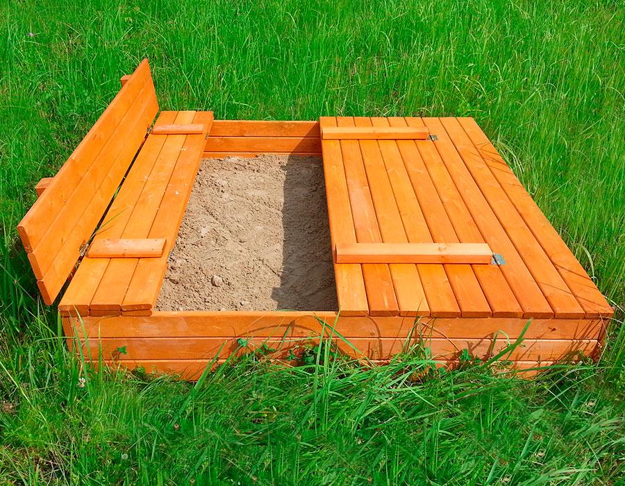 Как сделать закрытую песочницу своими руками 4