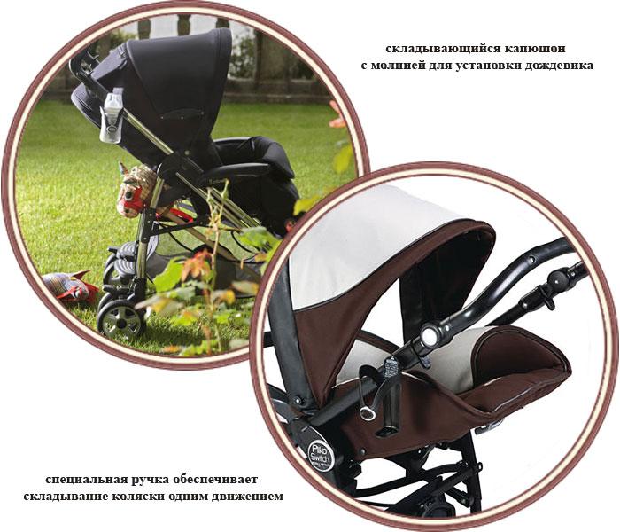 Peg Perego Pliko P3 Compact Classico коляска прогулочная 3 - купить в интернет-магазине Annapolly.ru Пег Перего Плико Пи3 Компак