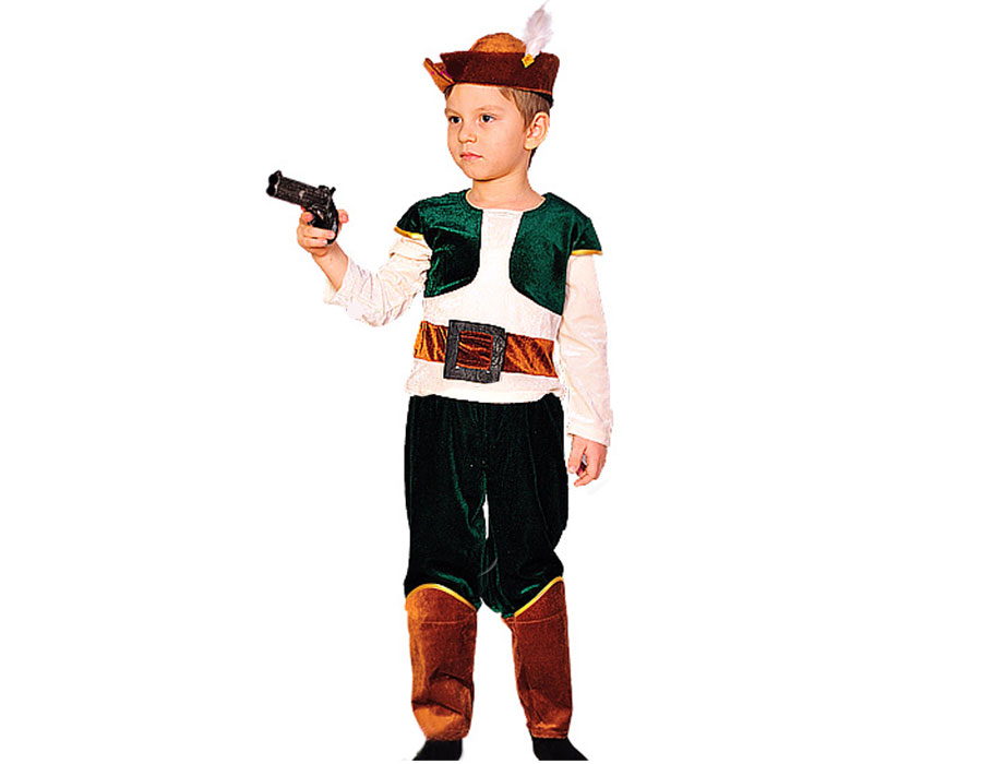 Как сделать костюм охотника для мальчика своими руками