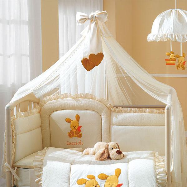 Пологи для детской кроватки своими руками