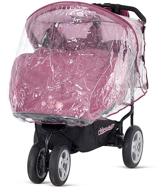 CHIPOLINO DOMINO pink с дождевиком.