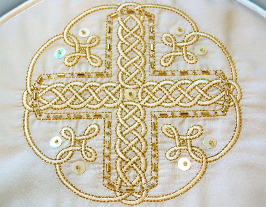 Орнамент в церковной вышивке 43