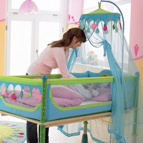 как сшить балдахин на детскую кроватку.