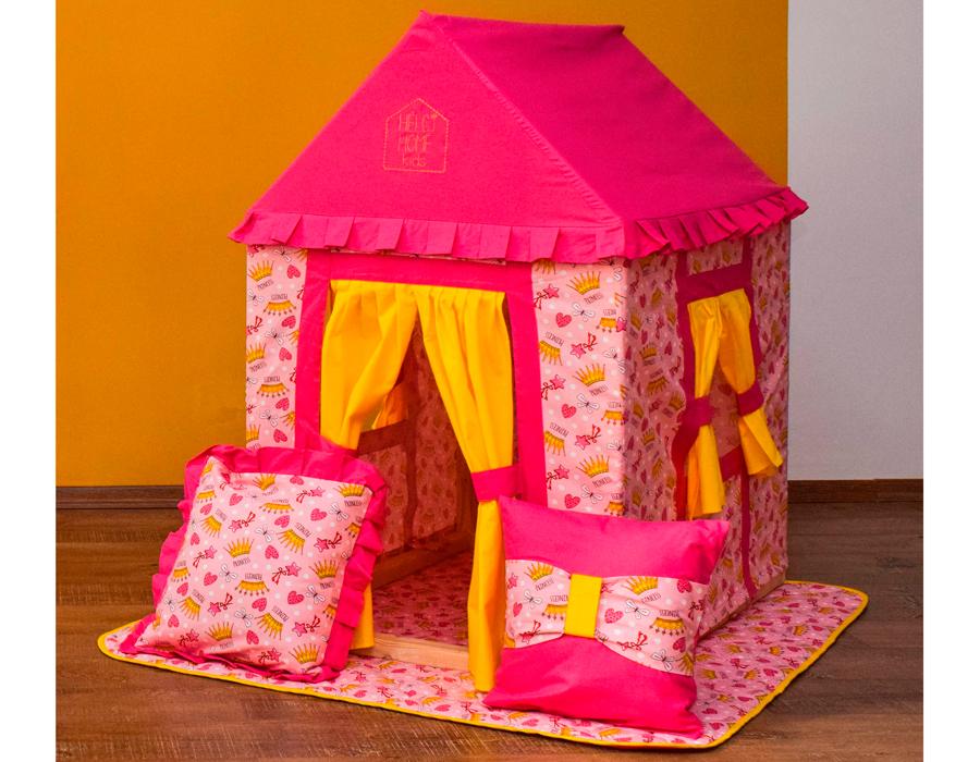 Как сделать игрушечную палатку своими руками 44