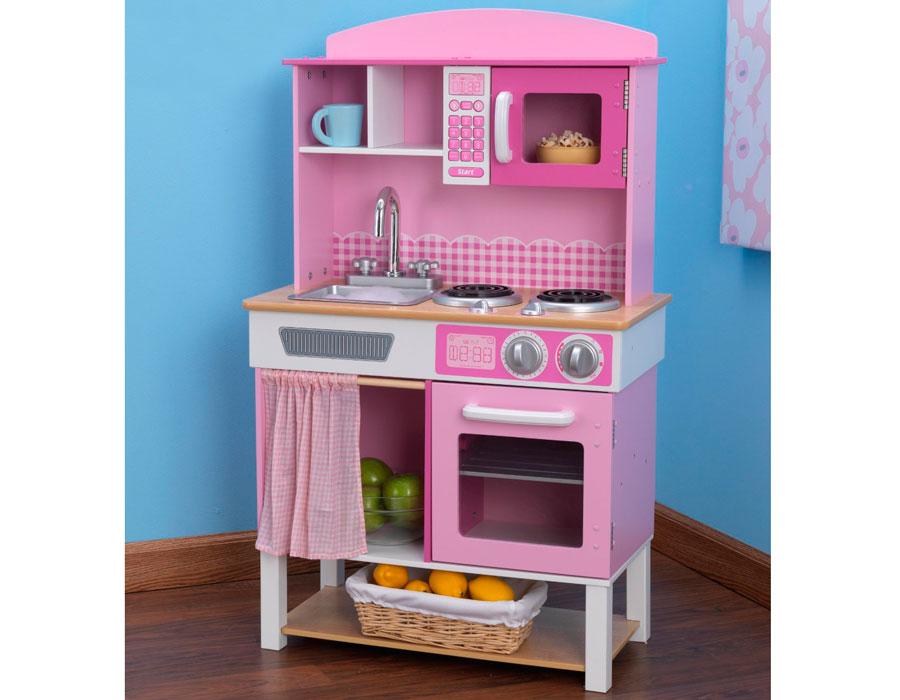 Детская кухня для девочек из дерева своими руками 61