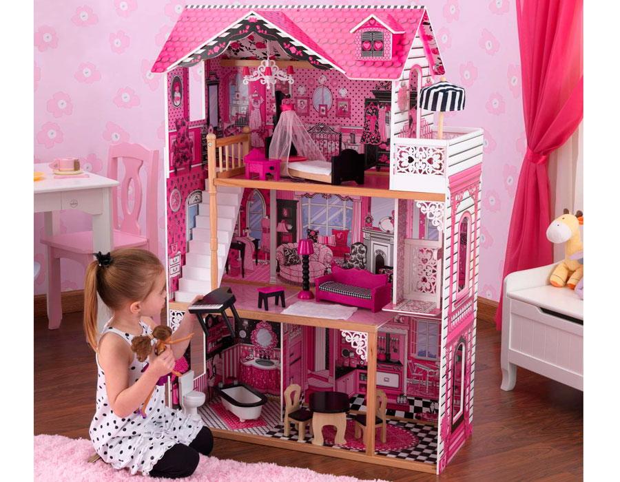 Как сделать самим дом для кукол видео