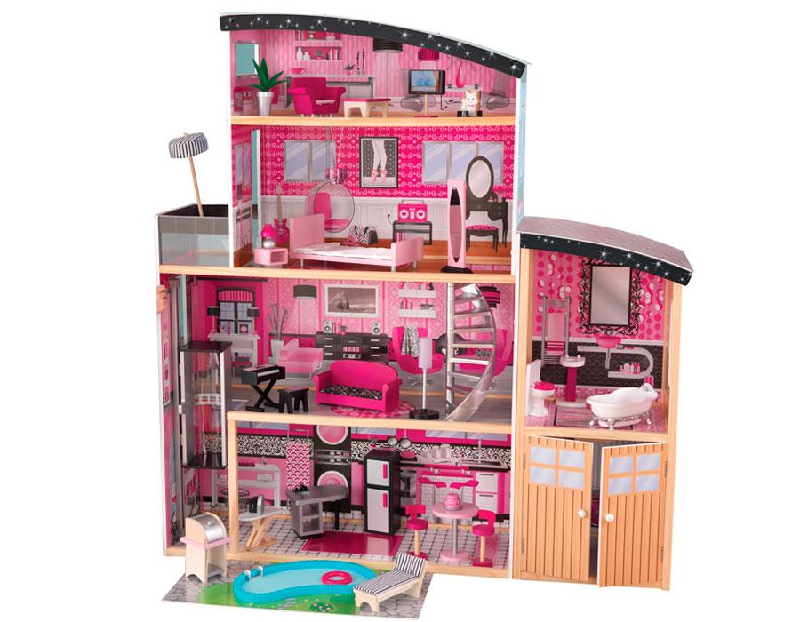 Фото барби и их дом своими руками