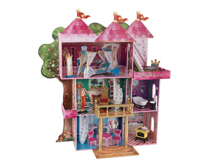Видео домики для кукол и мебель
