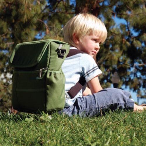 Оригинальный ремень позволяет трансформировать сумку в рюкзачок для...