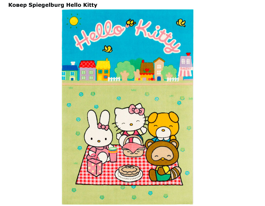 фото Ковер Spiegelburg Hello Kitty HK-23 (Шпигельбург Хеллоу Китти)