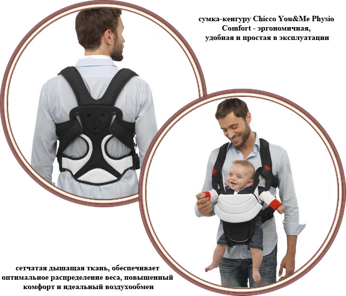 ���� �����-������� Chicco You&Me Physio-Comfort (����� � ��� �� ����� �������)