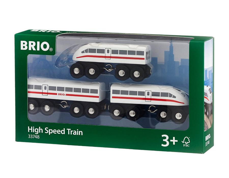 Железная дорога Brio полотно закруглённое  33342