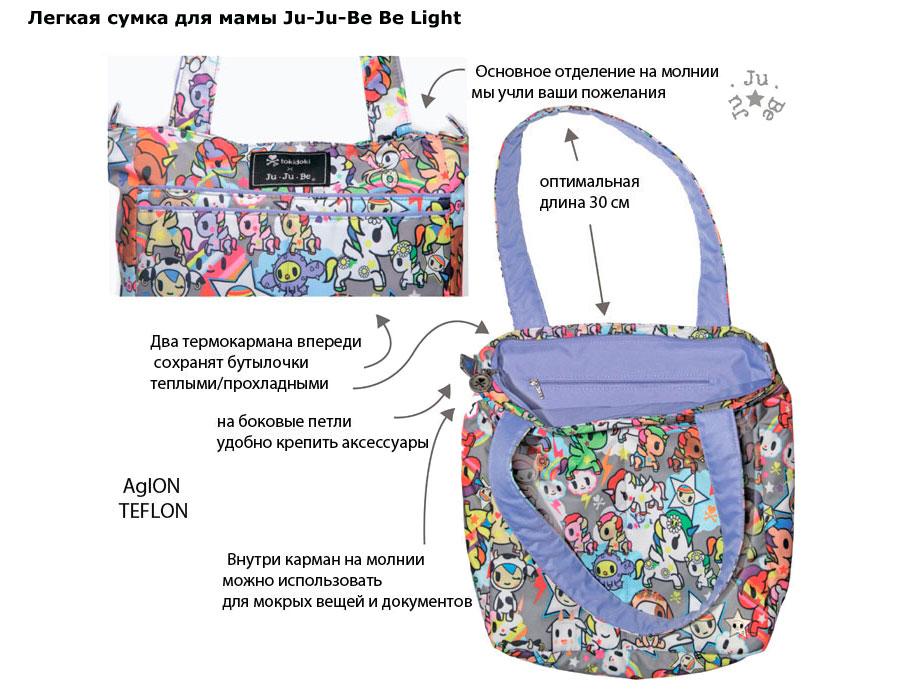 Ju Ju Be Be Light сумка для мамы - купить в интернет-магазине ... 2b7602fd345