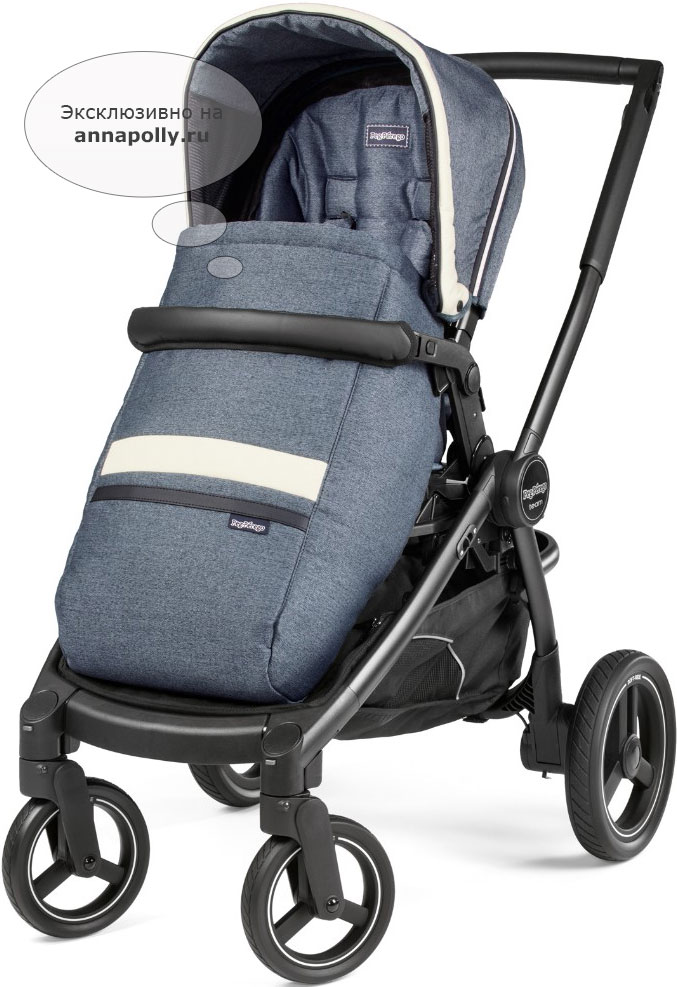 фото Коляска 2 в 1 Peg-Perego Team Pop Up Combo (Пер-Перего Тим Поп Ап Комбо)